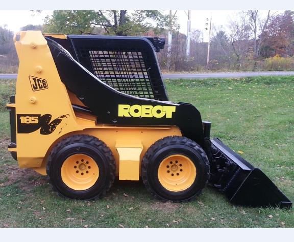 Jcb Robot 185  185hf  1105  1105hf Skid Steer Loader