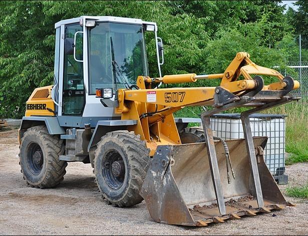 Liebherr L504 L506 L507 L508 L509 L512 L522 Wheel Loader