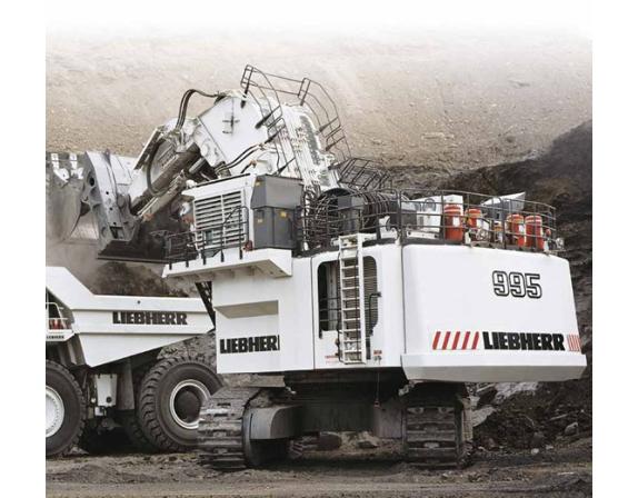 Liebherr R995 Litronic Hydraulic Excavator Service Repair