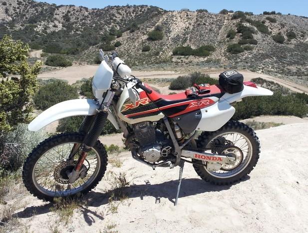 Honda xr250l manual