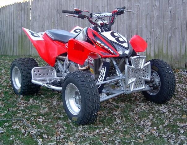 2004-2009 Honda TRX450R, TRX450ER Sportrax ATV Service ...